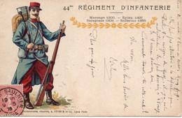 JURA  : 44e Régiment D'Infanterie  à LONS LE SAUNIER - 1. Weltkrieg 1914-1918