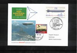 Germany / Deutschland 2010 Zeppelin NT 80th Anniversary Of The South America Flight Of Zeppelin LZ127 Graf Zeppelin - Zeppelins