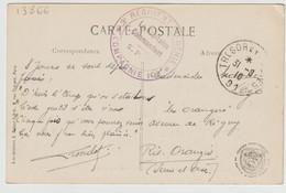 13866  TRÉSOR Et POSTE 91 - 3é RÉGIMENT De GÉNIE - 1916 - 1. Weltkrieg 1914-1918