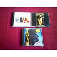 UMBERTO  TOZZI   °  LOT DE 3 CD   // 2 ALBUMS ET 1 MAXI - Altri - Musica Italiana