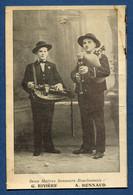 ⭐ France - Carte Postale - Deux Maitres Sonneurs Bourbonnais - Rivière - Bonnaud ⭐ - Non Classificati