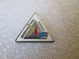 PIN'S   BRISBANE   1988  FRANCE  VOILIER  Zamak - Boats