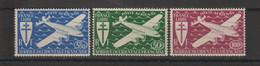 AOF 1945 Série PA 1-3 3 Val ** MNH - Nuevos