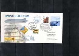 Germany / Deutschland 2003 Sindelfingen Flight Of Zeppelin NT From Friedrichshafen To Sindelfingen - Zeppelins