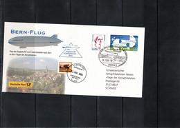 Germany / Deutschland 2004 Bern Flight Of Zeppelin NT From Friedrichshafen To Bern Days Of Aerophilately - Zeppelins