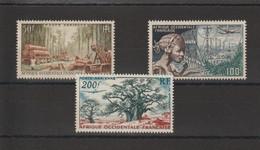 AOF 1954 Communications Et Flore PA 18-20 3 Val ** MNH - Neufs