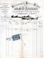 Papeterie, Fournitures De Bureaux - THIBAUDIER & BOIN - Lyon 1874 - 1800 – 1899