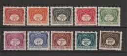 AOF 1947 Taxe 1-10 10 Val ** MNH - Neufs