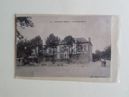 CPA    SOMME  80  AILLY SUR NOYE   LA  GENDARMERIE - Ailly Sur Noye