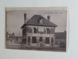CPA    SOMME  80   BETHENCOURT / MER   LA  POSTE - Other Municipalities