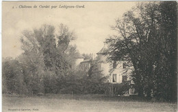 GARD : Ledignan, Chateau De Cardet - Other Municipalities