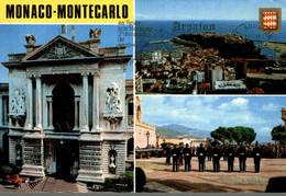 MONACO MONTE CARLO VUES DIVERSES DE LA PRINCIPAUTE - Monte-Carlo