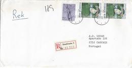 Sweden , Painting , Iva Arosenius , Insects , Aeshna Cyanea  , Stockholm  Postmark And Registration Label 1979 - Otros