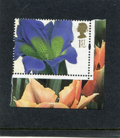 GREAT BRITAIN - 2004  1st CLASS  GENTIANA  PERF  15x14  MINT NH - Ungebraucht