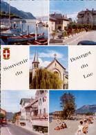 SOUVENIR DU BOURGET DU LAC   ( SAVOIE )    MULTI-VUES - Gruss Aus.../ Gruesse Aus...