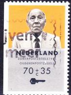 Niederlande Netherlands Pays-Bas - Einzelmarken Aus MH (MiNr: 1474 II D) Bzw. (NVPH: 373) 1993 - Gest Used Obl - Booklets