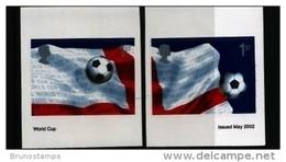 GREAT BRITAIN - 2002   WORLD CUP  SELF-ADHESIVE  SET  MINT NH - Ungebraucht