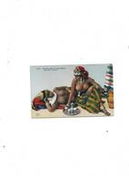 Carte Postale Ancienne Type Arabe (Algérie) Femmes Arabes Dans Le Sud Algérien - Women