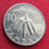 Malawi 10 Tambala 2003 KM# 27 *V2 - Malawi
