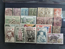 FRANCE LOT ON CARD INCL. UNUSED UNCHECKED - Zonder Classificatie