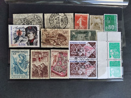 FRANCE LOT3 ON CARD INCL. CLASSIC UNCHECKED - Zonder Classificatie