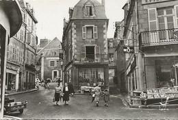 CPSM Gueret La Grande Rue - Guéret