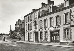 CPSM Gueret L'Hôtel Du Nord Avenue De La Gare - Guéret