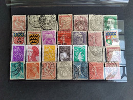 FRANCE LOT4 ON CARD INCL. CLASSIC UNCHECKED - Zonder Classificatie
