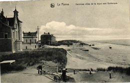 P249 DE PANNE : Villa's Op De Dijk Naar Duinkerke, Gelopen Kaart - De Panne