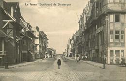 BELGIQUE   LA PANNE  Boulevard De Dunkerque - De Panne