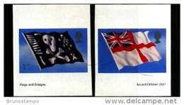 GREAT BRITAIN - 2001  FLAGS  SELF-ADHESIVE  SET  MINT NH - Ungebraucht