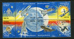 USA MNH Souvenir Sheet-Moon Exploration - Nuevos