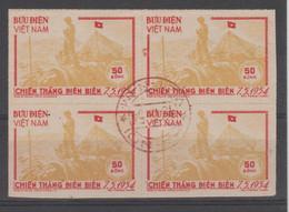 N.VIETNAM  1954   IMPERF.   DIEN BIEN PHU  Used   VF  Réf  79a - Vietnam