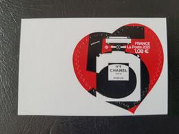 France Timbre NEUF** Auto-adhésif N° A1954  Année 2021 - Cœur De Chanel N° 5 - Unused Stamps