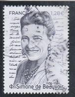 FRANCE 2021 SIMONE DE BEAUVOIR OBLITERE - Used Stamps