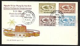 Vietnam FDC 03 02 1964  Energie Atomique - Vietnam