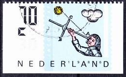 Niederlande Netherlands Pays-Bas - Einzelmarken Aus MH (MiNr: 1291 II E) Bzw. (NVPH: 211) 1986 - Gest Used Obl - Booklets