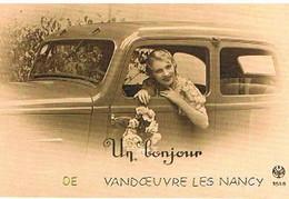 54 UN  BONJOUR    DE  VANDOEUVRE  LES NANCY  CPM  TBE   451 - Vandoeuvre Les Nancy