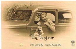 54 UN  BONJOUR    DE  NEUVES  MAISONS  CPM  TBE   453 - Neuves Maisons