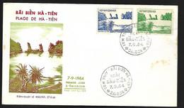 Vietnam FDC  07 09  1964  PLAGE De Ha Tien - Vietnam