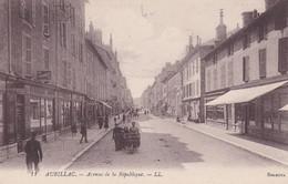 15 - CANTAL - AURILLAC - Avenue De La République - éditeur LL.   (lot Pat 158) - Aurillac