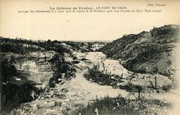 CPA - VERDUN - FORT DE VAUX - Verdun