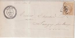 "FRANCE : GC 4830 . "" LUNAY "" . (40) . N° 21 . 1868. - 1849-1876: Klassik"
