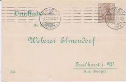 DR Germania Mi 84 Maschinenstempel Essen Ruhr Kte 1911 - Machine Stamps (ATM)