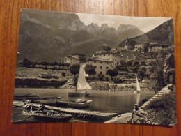 Cartolina  MOLVENO  TEMATICA  BARCHE - Chiatte, Barconi