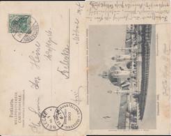 DR Germania Mi 70 Klass Sonderstempel Düsseldorf Ausstellung Kte 1902 (1) - Machine Stamps (ATM)