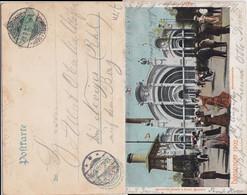 DR Germania Mi 70 Klass Sonderstempel Düsseldorf Ausstellung Kte 1902 (2) - Machine Stamps (ATM)