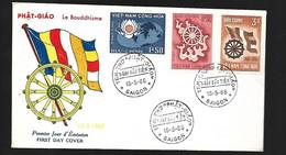 Vietnam FDC  15 05 1965  Le Bouddhisme - Vietnam