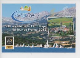 Tour De France Cyclisme 2013 - Chorges Ville Arrivée 17è étape (cité Caturige Portes Lac Serre-Ponçon) Cp Vierge - Cycling