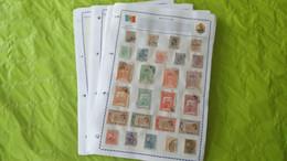 Lots TH 600 ROUMANIE . Une Collection Neufs Ou Obl . Sur Page D'albums - Sammlungen (im Alben)
